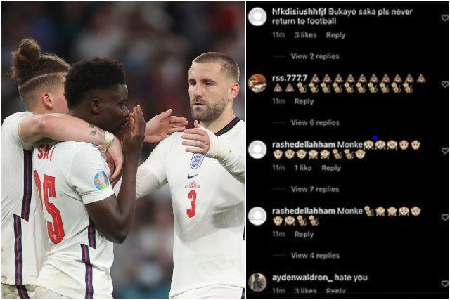 Insulti ai giocatori inglesi dopo EURO 2020 - Photo by FanPage